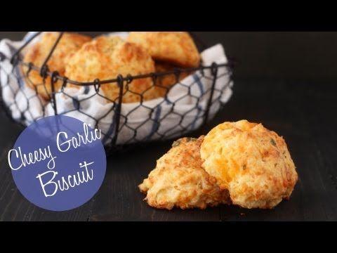 Homemade Cheesy Garlic Biscuits