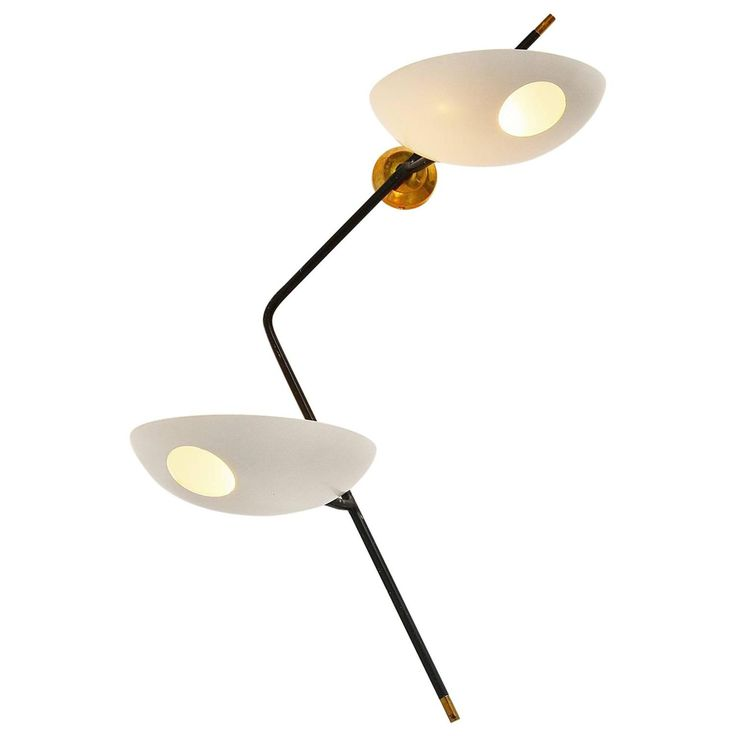 Stilnovo Wall Lamp by Bruno Gatta, Italy, 1955