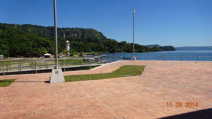 Lake Ilopango.