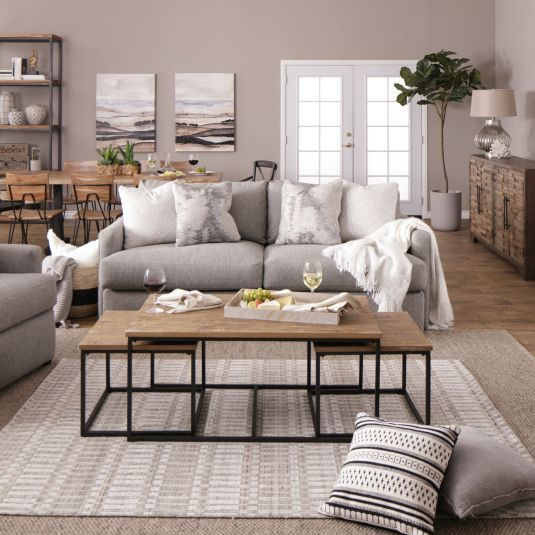 Jerome S Furniture Offers The Repose Sofa Chair In Platinum At The