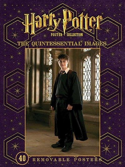 This beautiful poster book captures the magic of the Harry Potter films in an exciting new format. Harry Potter: The Quintessential Images comes with forty large-scale, display-worthy posters, featuring your favorite Harry Potter characters in striking poses — from Harry Potter, Hermione Granger, and Ron Weasley to Severus Snape, Albus Dumbledore, Bellatrix Lestrange, and even Dobby the house-elf. The posters span all eight feature films, celebrating pivotal moments and highlighting eac...