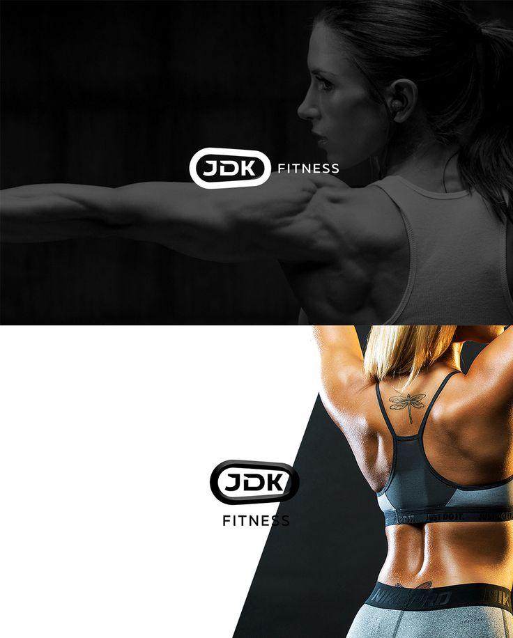 JDK #Fitness #logo on Behance                                                                                                                                                     More