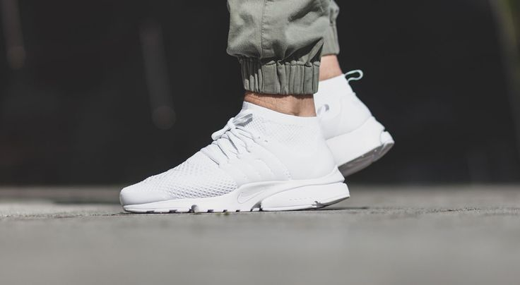 "Air Presto Flyknit Ultra ""Triple White"" - Sneaker"