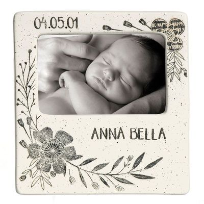 Flower Baby Small Photo Frame