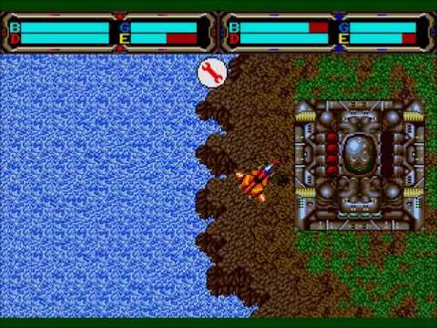 Herzog Zwei (Genesis) Strand map play through - Hands down the best game on the Sega Genesis.  Great Grandfather to all real-time strategy games that would follow.