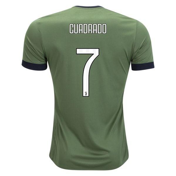 adidas Juan Cuadrado Juventus Third Jersey 17/18