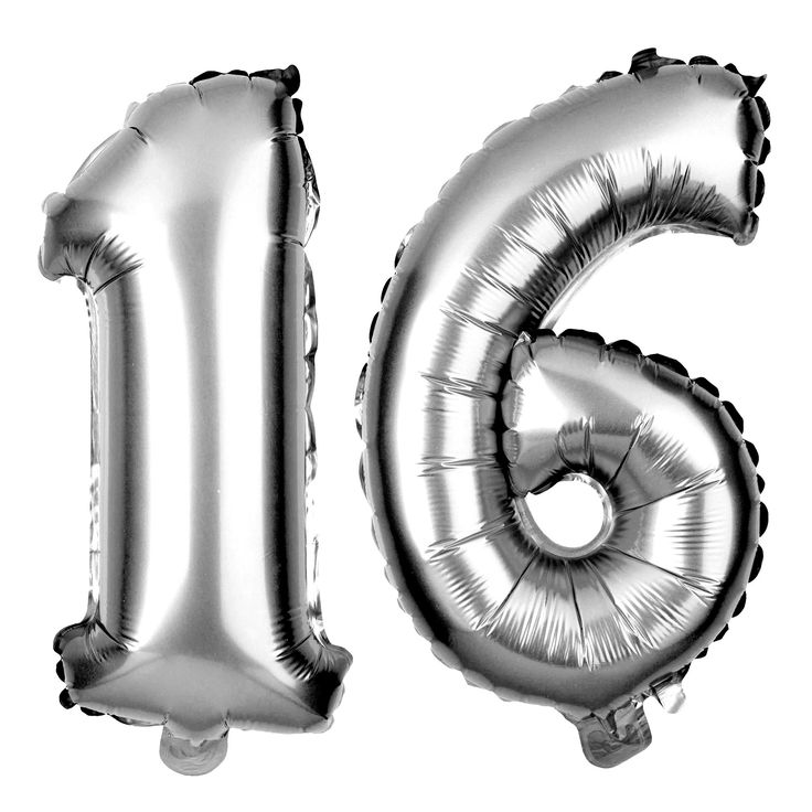 16th Birthday Party Balloons Numbers 1-6 MAKE YOUR PHOTOS STAND OUT: Whether you use these as props in your 16th birthday photos or as part of your backdrop or decorations, these will add extra excite