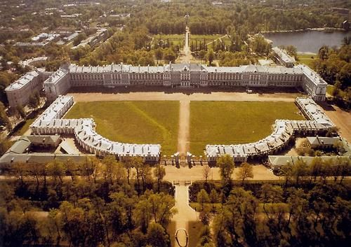 Tsarskoe Selo: a village outside of St. Petersburg that the Romanov Tsars and Empresses loved to call home, containing amongst its buildings the Catherine and Alexander Palaces. IMAGE: Catherine Palace, Tsarskoye Selo, Russia