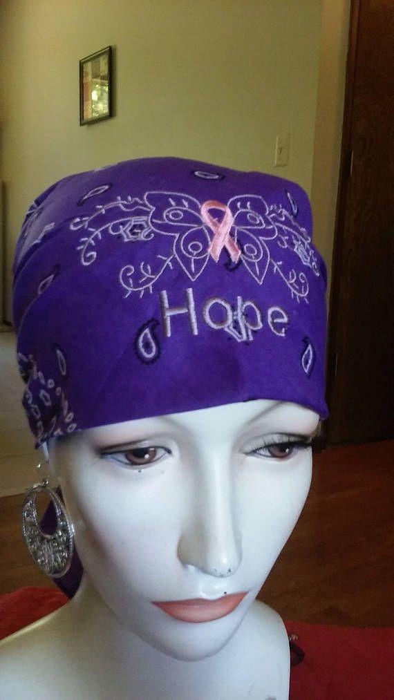 cancer head ware- bandannas - head scarfs