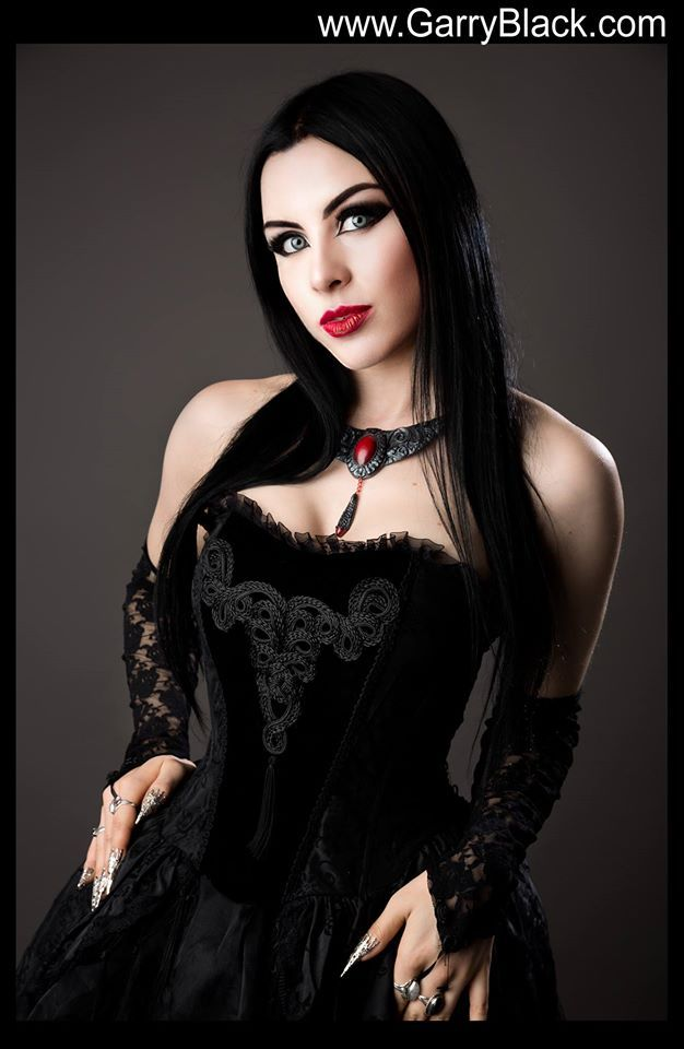 Model: Lady Kat Eyes Photographer: Garry Black Photography Dress: DarkinCloset, Necklace:DDeluxsus Welcome to Gothic and Amazing |www.gothicandamazing.org