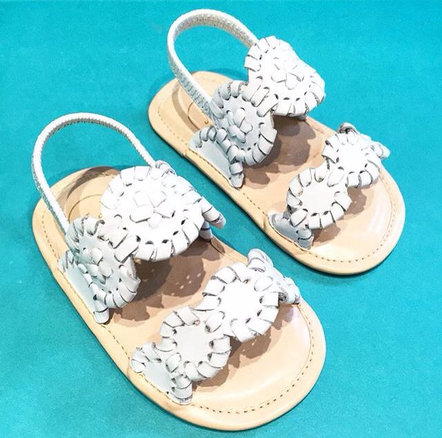 Baby Jack Rogers Lauren sandals.