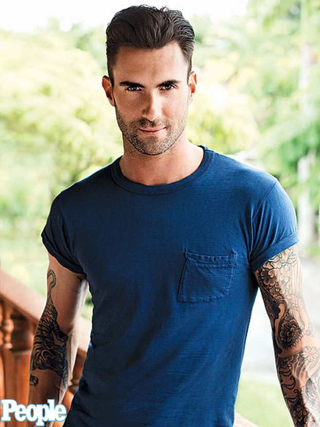 Adam Levine. @Laura Henry thanks for the pin..I LoVE it!! :) I just bought the SEXIEST MAN ALIVE magazine the other day! :)