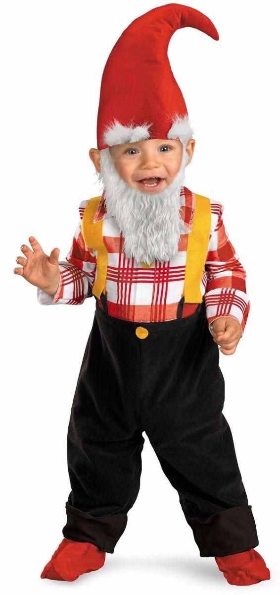 disfraz duende gnome gnomo nio talla aos regalo ideas