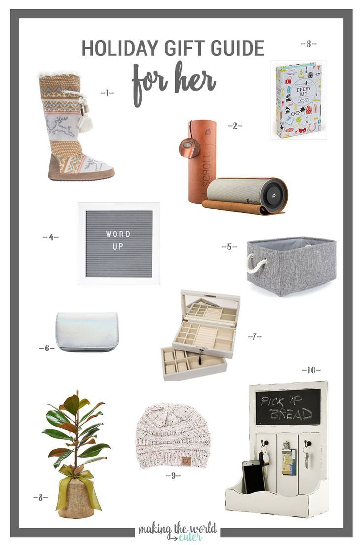 10 Of The Best Gift Ideas For Woman Who Has Everything