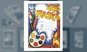 Resultado de imagen para ideas para caratulas de artes plasticas