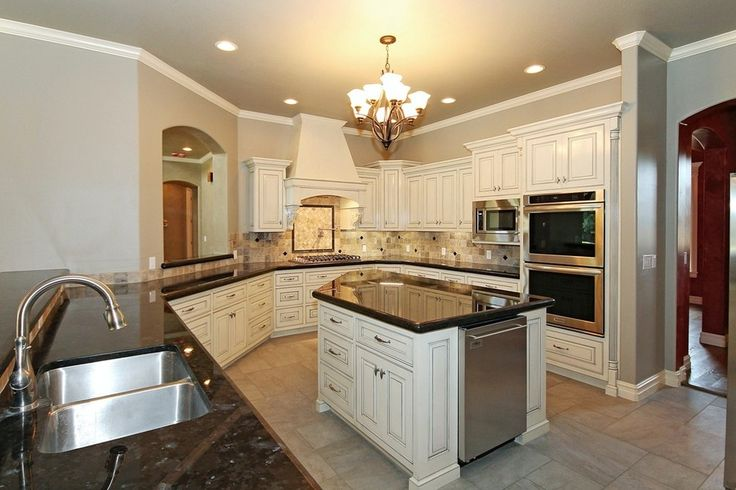 types of granite kitchen traditional with subway tile from Types Of Kitchen Backsplash