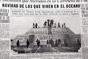 La vez que Quetzalcóatl tomó el lugar de Santa Claus -  En 1930 los mexicanos celebramos la Navidad acompañados de Quetzalcóatl con el fin de olvidar a Santa Claus, un personaje que nada tiene que ver con México.    Era 1930 y el nacionalismo estaba muy presente en México, hacía pocos años que había terminado la Revolución y era esta la razón por la que alabar a un personaje extranjero como Santa Claus en Navidad parecía una locura. Por ello mediante una instrucción presidencial se invitó en…