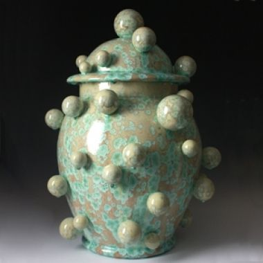 Kate Malone: A Single Atomic Lidded Jar, 2011