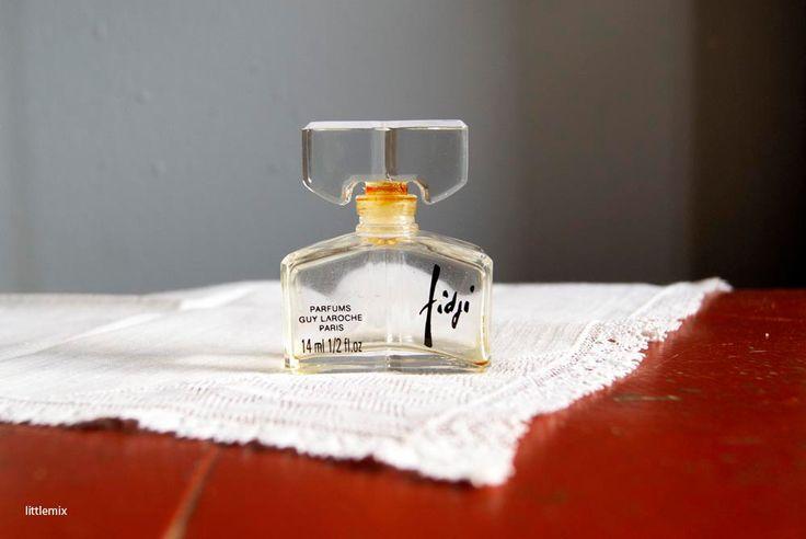 FREE SHIPPING WORLDWIDE! Vintage Fidji Perfume by Guy Laroche 14 ml 1/2 fl.oz Bottle by Littlemix on Etsy