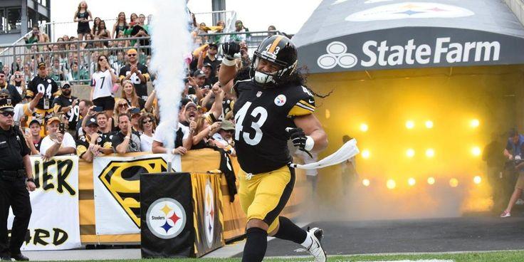 Pittsburgh Steelers great Troy Polamalu