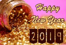 Latest Happy New Year 2018 Quotes : 2019 Wallpaper HD New Year Gold 3