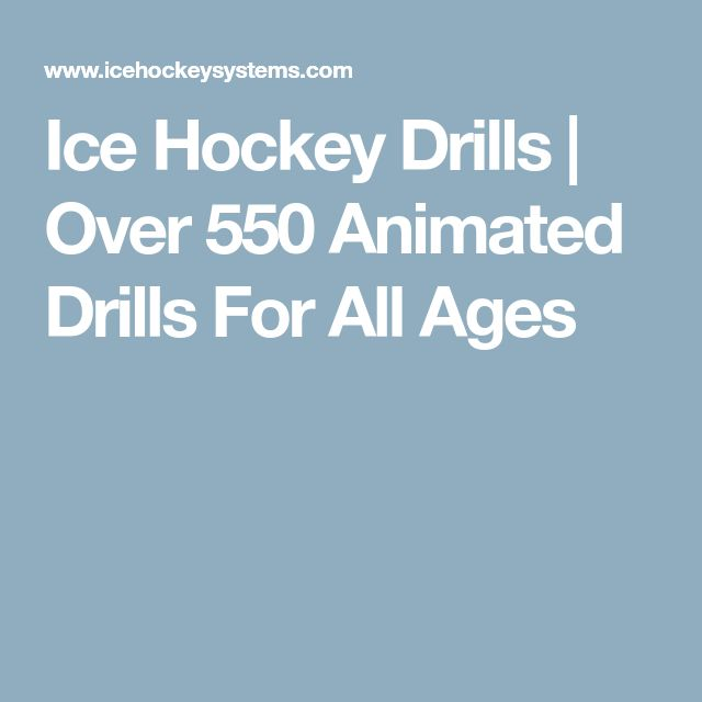 Ice Hockey Drills | Over 550 Animated Drills For All Ages