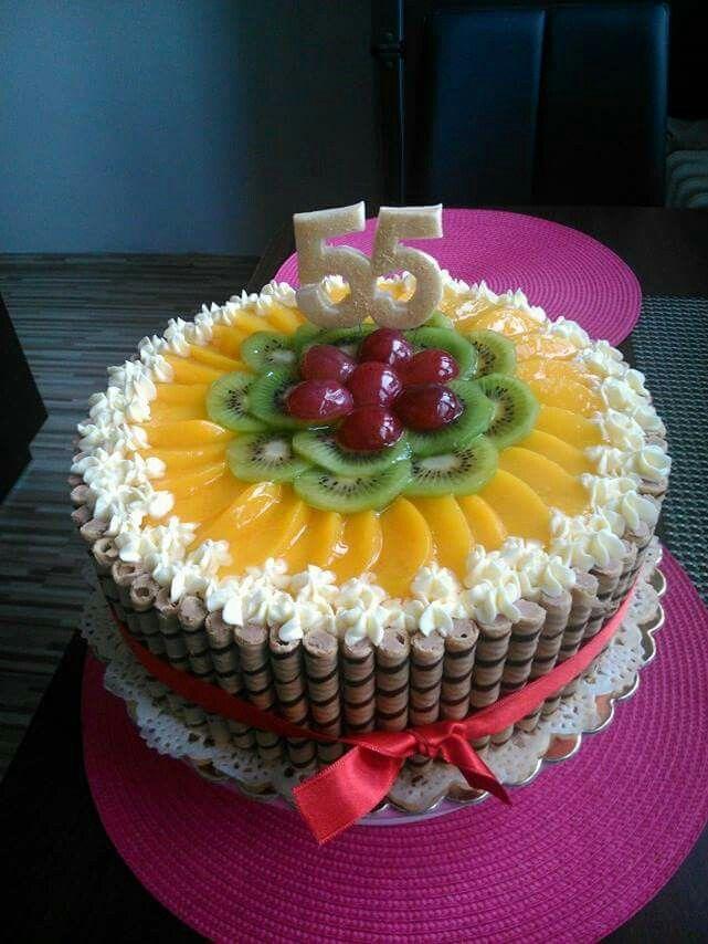 Ovocny dortik 55 (fruit cake)