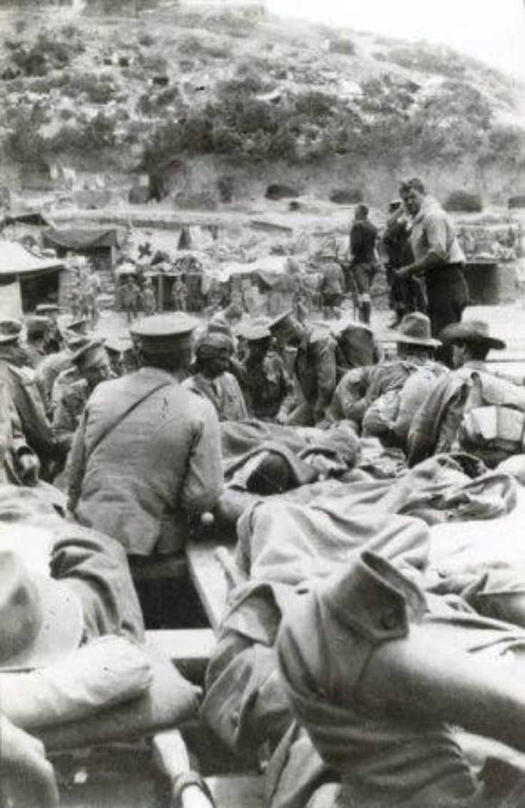 Gallipoli- wounded