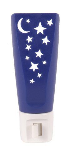 GE 52180 Stars and Moon Incandescent Night Light by GE. $6.88. From the Manufacturer                The Stars and Moon Night Light allows you to personalize a room that matches your style.