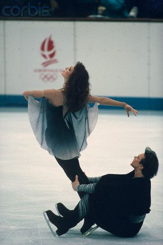 Marina Klimova & Sergei Ponomarenko performing their Free Dance at the 1992 Olympics in Albertville, France... they were mesmerizing.