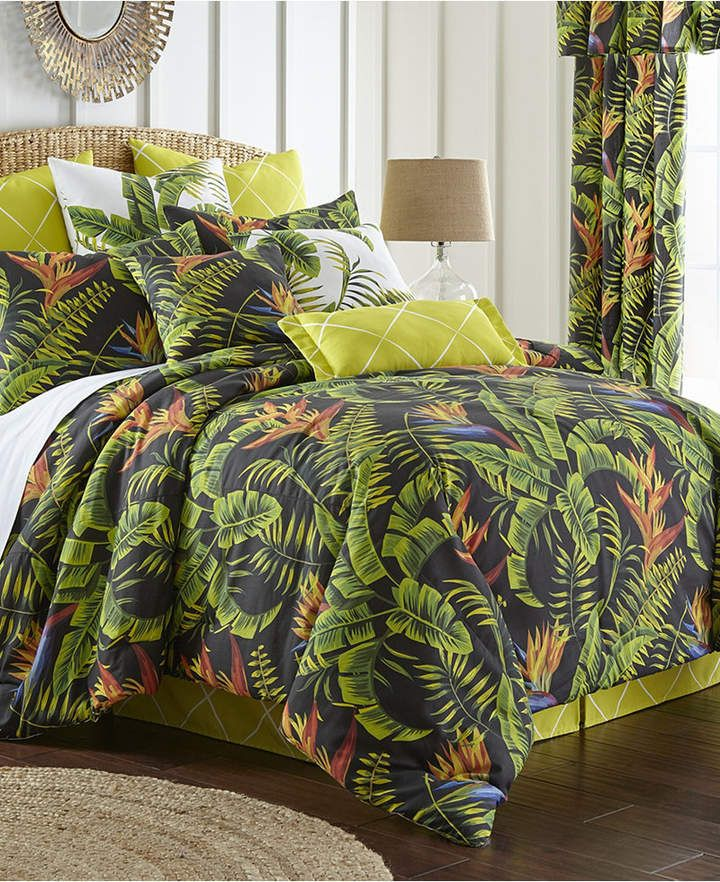 Colcha Linens Flower Of Paradise Duvet Cover Set King California