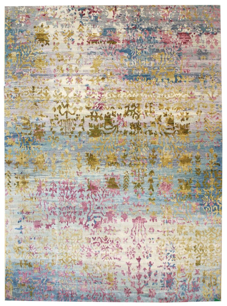 Breathtaking contemporary rug design, new in the Tissage Collection.  J38064 Metallica Reserve www.landryandarcari.com