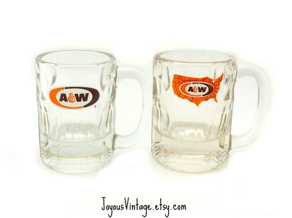 Vintage Advertising Collectible A & W Small Root by JoyousVintage, $15.00