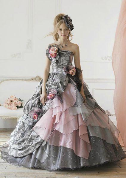 robe mariage original rétro romantique cereza deco