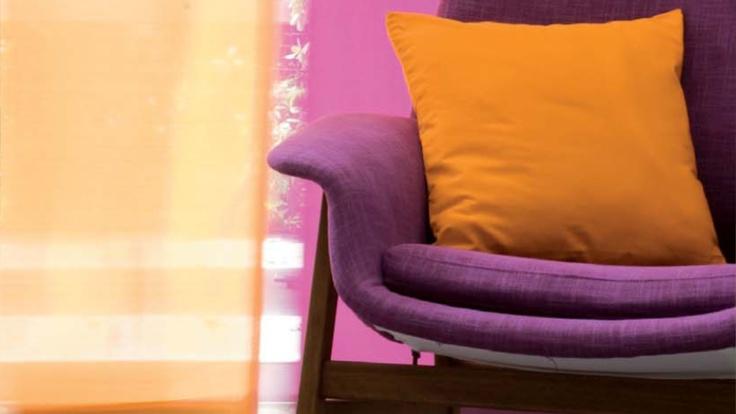 Viola & Arancione: un mix creativo di colori