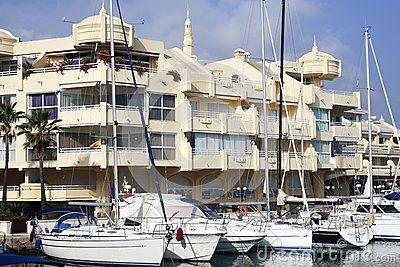 Puerto Marina Benalmadena Spain Andalicia. december 2016