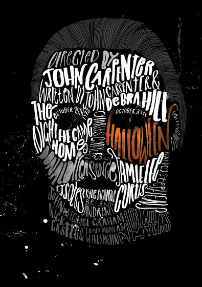 michael myers poster art | Michael Myers / Halloween Poster – Peter Strain – Illustrators ...
