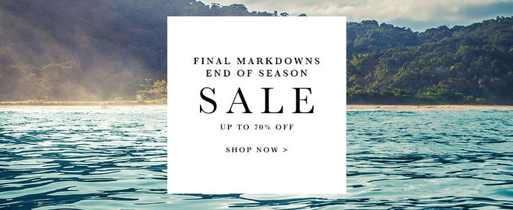 FINAL MARKDOWNS NOTICE from the AllSole Online Sale - Discount Code
