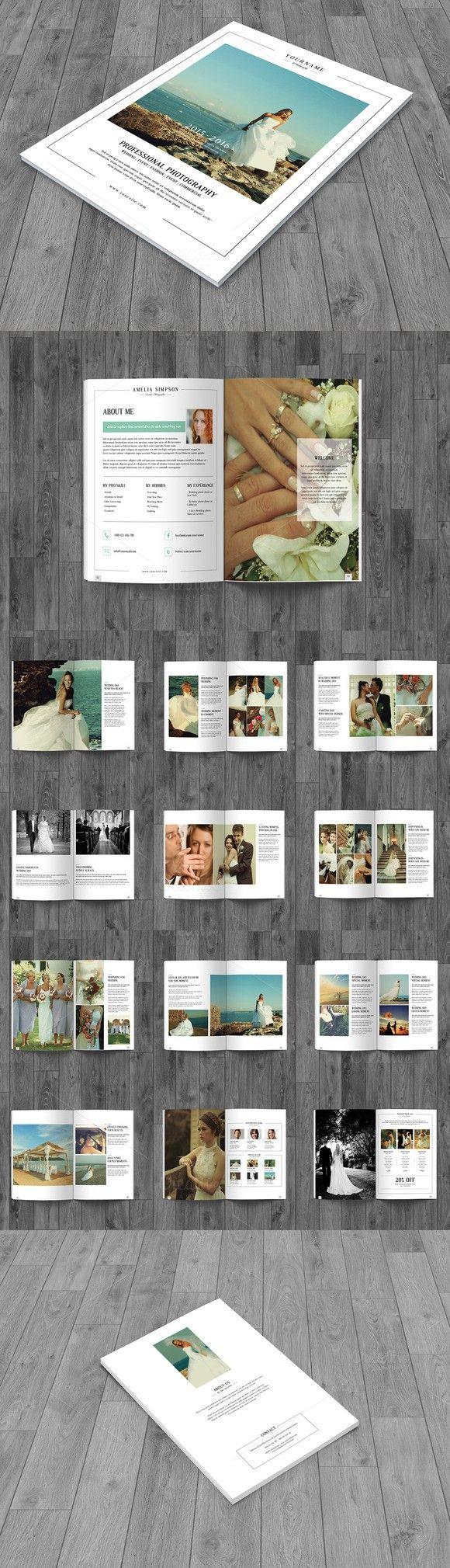 Wedding Photography Brochure 28 best Wedding Photography