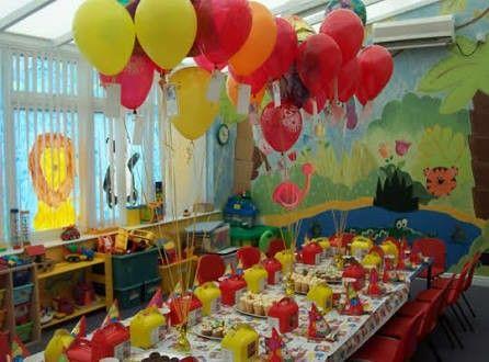 fiesta nios decoracin