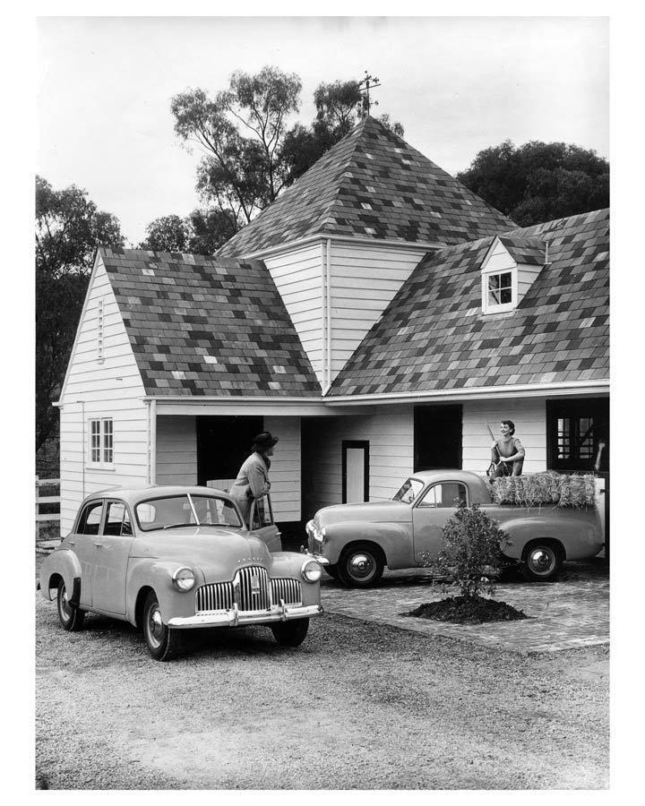 1948 Holden 215 & 2106