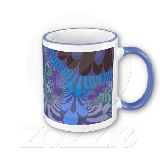 Customizable Cornflower Mod 11oz. Ringer Mug going for $16.95. Check this product out at www.zazzle.com/wonderart* or click on the picture to take you directly to the product.