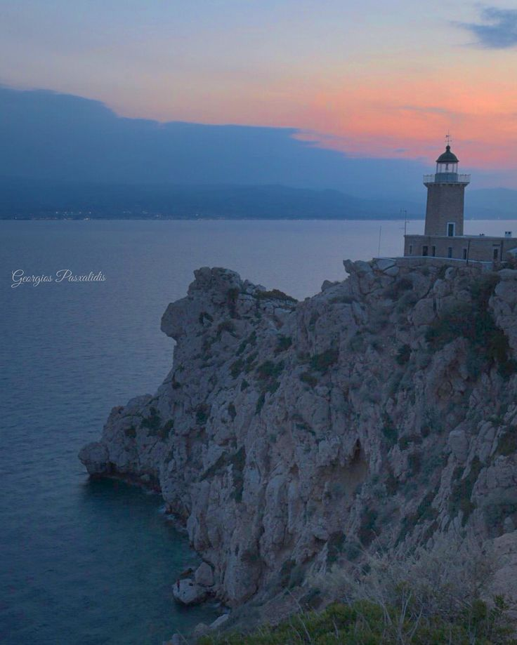 "MELAGAVI"" lighthouse .....in Corinth .....(HERAION -LOUTRAKI).....GREECE....."