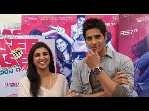 Parineeti Chopra | Sidharth Malhotra | HASEE TOH PHASEE love story.