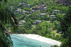 Luxury Seychelles hotel features award-winning design and tree-house villas