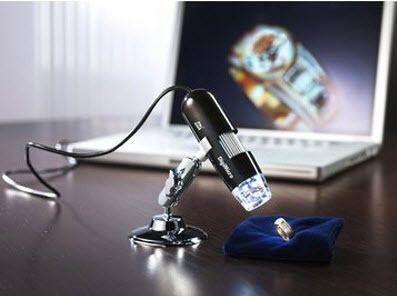 Mikroskop Digital USB 500x Pembesaran Cocok untuk memeriksa tanaman dan hama, pcb elektronik, kesehatan kulit dan rambut, pengembangan pendidikan, batu permata dan barang antik.