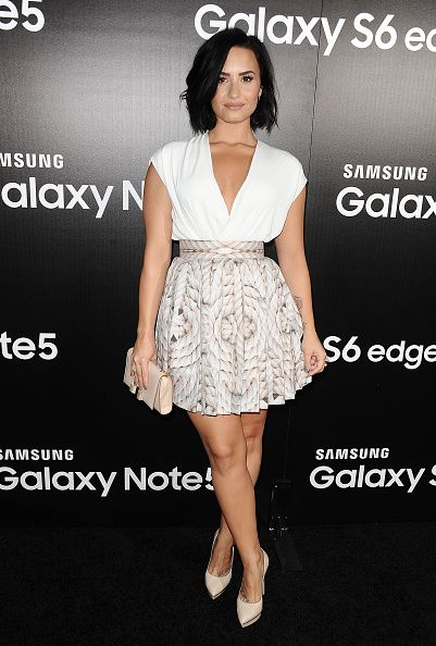 LovaticDogLover — dlovato-news: AUGUST 18th - Samsung Lauch Party...
