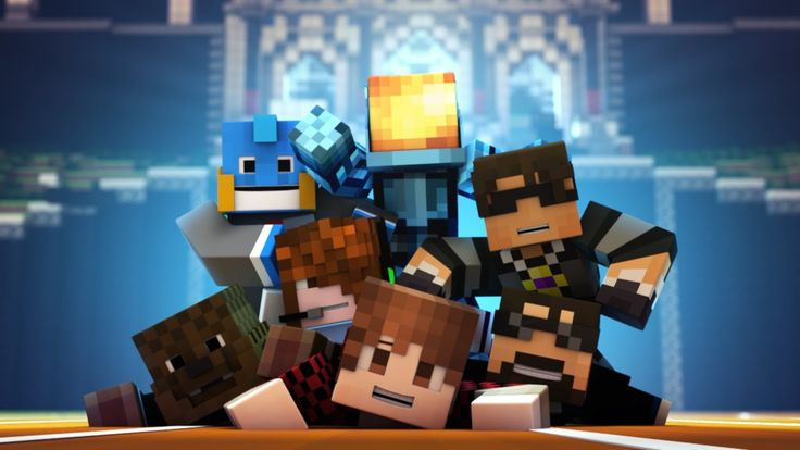Minecraft Animation : TEAM CRAFTED IS HERE! (+playlist)