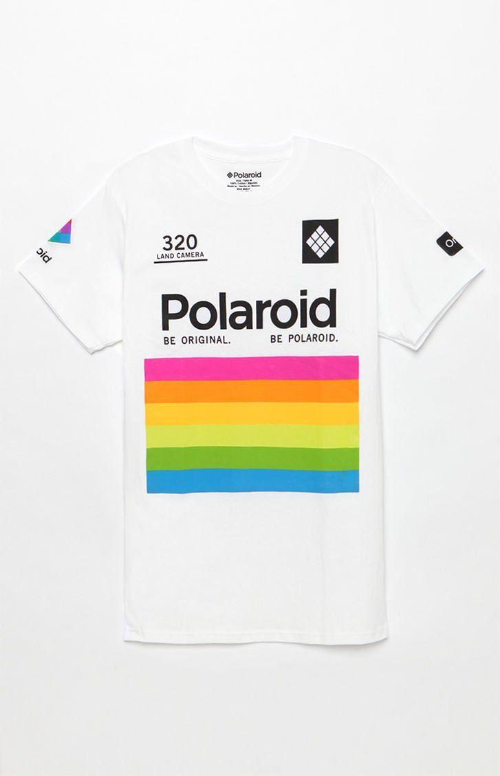 52a910801 null Polaroid T-Shirt | Clothing• | T shirt, Tee shirt designs, Polaroid
