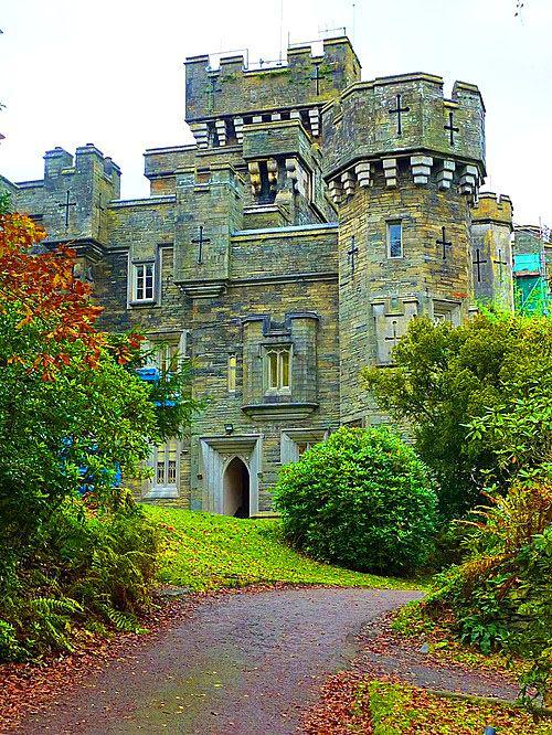 Medieval, Wray Castle, Cumbria, England